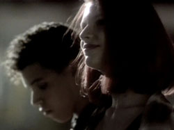 A scene from the My So-Called Life pilot starring Claire Danes and Wilson Cruz
